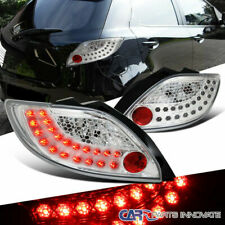11-12 Mazda 2 Demio Clear LED Parking Tail Lights Rear Brake Lamps Left+Right