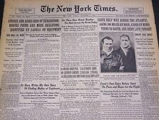 1930 SEPTEMBER 2 NEW YORK TIMES - ANDREE & AIDES DIED OF EXHAUSTION - NT 4974