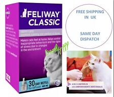 Feliway Classic 30 Day Refill, 48ml, Uk free shipping, boxed, 2023 expiry