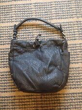 Gap Ladies Black Leather Shoulder Bag - New+Tags