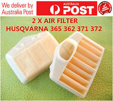 2 X AIR FILTER CLEANER FOR HUSQVARNA 365 362 372 371 CHAINSAW