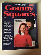 Vintage 1976 Woman's Day Granny Squares Crochet Magazine Issue Number 4.