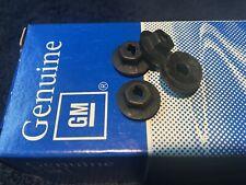 "NOS GM 1/4"" Emblem/Molding Nuts (4) Oldsmobile Cutlass 442 Delta 88 W30 Hurst"
