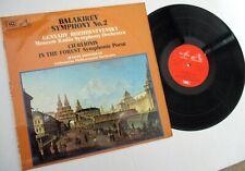 HMV MELODIYA ASD3503 BALAKIREV SYMPHONY # MOSCOW RADIO SYMPHONY  ROZHDESTVENSKY