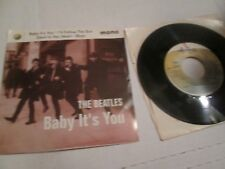 BEATLES Baby It's You MONO EP 45 w/ PS Rare 1995 VINYL NM