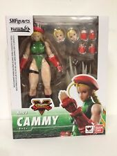 IN STOCK! S.H.Figuarts Street Fighter 5 V Cammy Action Figure Bandai **US SELLER