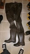 RedHead Bone-Dry Rubber Boot-Foot Chest Waders Size 9