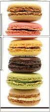 Sticker frigo électroménager déco cuisine Macarons 70x170cm réf 570