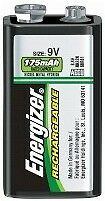 9 Volt Rechargeable Battery - NH22 - Energizer