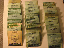 NOS  Watch Crystal- Various Sizes For Waltham  Watches