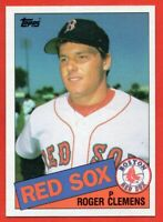 1985 Topps #181 Roger Clemens ROOKIE RC NEAR MINT/MINT+ Boston Red Sox FREE S/H