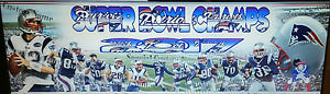 NEW ENGLAND PATRIOTS personalized, matted and framed.