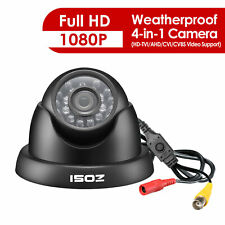 ZOSI Outdoor Dome Home Security Surveillance Camera 1080P 4in1 IR Night Vision