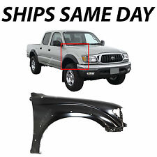 NEW Primered- Passengers Right Front Fender For 2001-2004 Toyota Tacoma W/ Flare