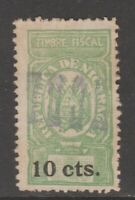 Nicaragua tax revenue fiscal collection stamp 12-7-22