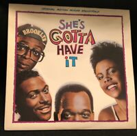 She's Gotta Have It Soundtrack LP Record Album Spike Lee Joint Movie 1986 Promo