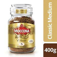 Moccona Classic Dark Roast Freeze Dried Instant Coffee - 400g, 6 Packs