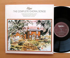 Hyperion A66271/2 Elgar Complete Choral Songs Worcester Donald Hunt 2xLP NM/EX