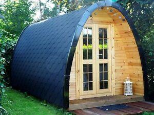 Campinghaus, Camping Pod, Ferienhaus, Wochenendhaus, Gartenhaus, Holz,46mm 38464