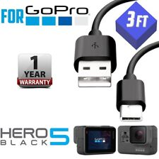 3ft (1M)For GoPro Hero Black 5 Camera USB Data Sync Power Charger TYPE C Cable