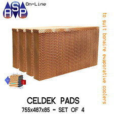 GENUINE FROM BONAIRE CELDEK FILTER PADS - #CEL57 - (SET OF 4)