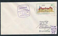 96420) LH FF Düsseldorf - Budapest 12.7.68, Brief ab DDR