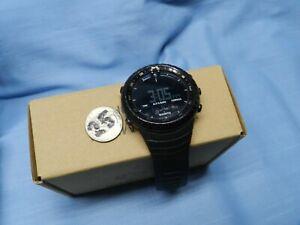 Suunto Core Tactical Military Outdoor Watch - All Black - Altimeter, Barometer
