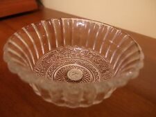 """Crystal Clear Industries in TRELLIS Round 4.5"""" bowl fruit/dessert bowl RARE"""