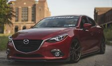 Mazda 3 Kuro Style Front Lip for 2014 BM Mazda 3 Hatch & Sedan Pre-face Model