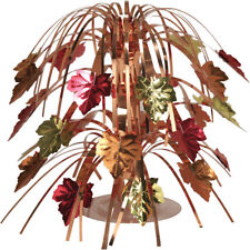 Autumn Leaves Table Centrepiece Decoration Thanksgiving Harvest Table Decoration