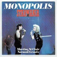 "STARMANIA 88 Vinyle 45T 7"" MONOPOLIS - Martine St CLAIR & N GROULX - APACHE RARE"