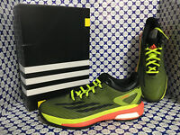Scarpe Adidas Basket Uomo - Crazylight Boost Low SCONTATE - Nero Verde - S83862