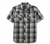 LEE Men's Short sleeve Plaid Shirt sz small NEW