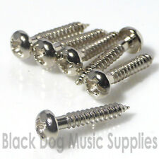 Chrome black or gold dome head screws 2.5mm x 15mm guitar project self tapping