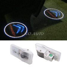 2x LED Car step courtesy projector door lights FOR Citroen C3 C4 C5 C6 C8 DS3