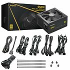 OPEN BOX 600W 650W 750W Gaming Power Supply GP Series 80 Plus Gold Certified