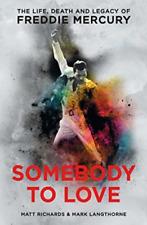RICHARDS MATT-SOMEBODY TO LOVE (UK IMPORT) BOOK NEW