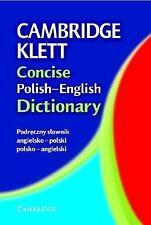 Cambridge Klett Concise Polish-English Dictionary (English and Polish Edition)