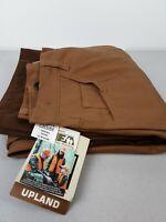 Men's Walls Upland Gear brown 100% Cotton duck hunting pants size 32 Regular