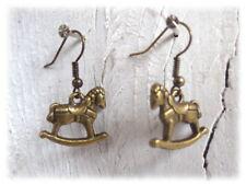 Schaukelpferd - Ohrringe Weihnachten skandinavisch Hygge Adventskalender Pferd