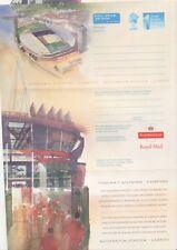GB Stamps Aerogram / Air Letter APS138 - 1st NVI Millennium Stadium Issue 1999