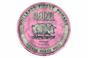 Reuzel Pomade Pink Heavy Hold Grease 340 G