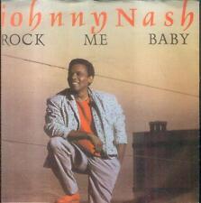 """7"""" Johnny Nash/Rock Me Baby (D)"""