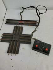 LIONEL REMOTE CONTROL TRACK SECTION 6019 & 1020 CROSSING