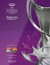 More details for * 2019 womens champions league final - barcelona v lyon (18th may 2019) *