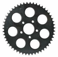 SPROCKET REAR FITMENT 00-UP BIG TWIN & SPORTSTER 49 TOOTH BLACK SUIT HARLEY