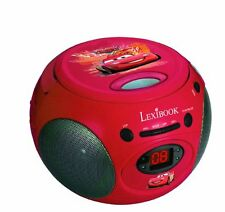 Lexibook Disney CARS Tragbarer CD-Player Radio AUX Musik Boombox Player Musik CD