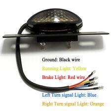 LED LICENSE PLATE BRAKE TAIL TURN SIGNAL LIGHT FOR BOBBER CAFE RACER ATV CHOPPER