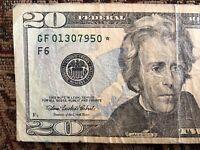 RARE 2004-A $20 TWENTY DOLLAR BILL STAR ✯ NOTE ATLANTA FRB - GF 01307950 ✯