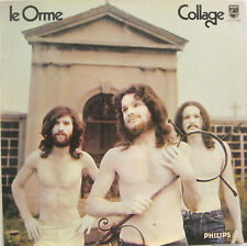 "LE ORME ""COLLAGE"" lp first press Italy prog."